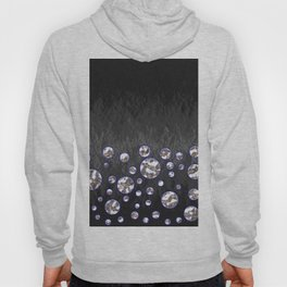 Asteroid Belt of Silver Moons Hoody