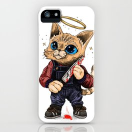 He's just a poor boy, he needs no sympathy iPhone Case