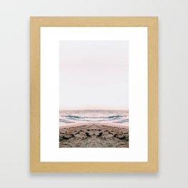 Beach/Sunrise Framed Art Print