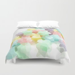 Pastel Abstract Duvet Cover