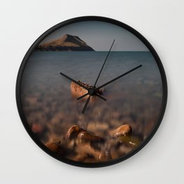 Worms Head Gower Wall Clock