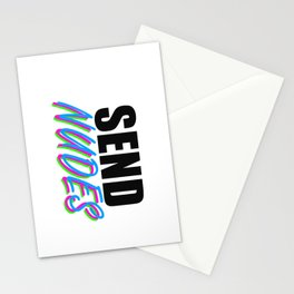 Send Nudes Stationery Cards