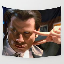 Vincent Vega Wall Tapestry