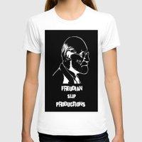 freud T-shirts featuring Freud by Freudian Slip Producions