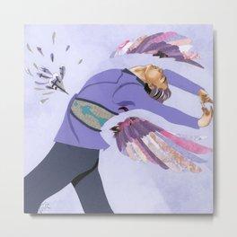 FS: Yuri on Ice Papercutting Metal Print