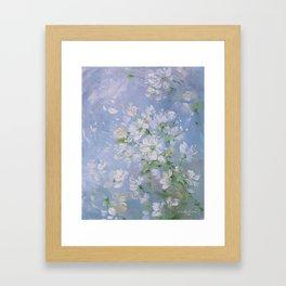 Sweet Wild Roses Framed Art Print