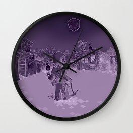Minecraft Nightmare Wall Clock