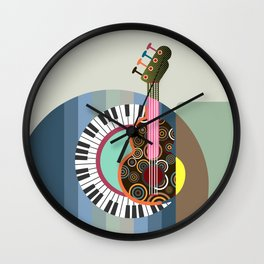 Music Theory II Wall Clock