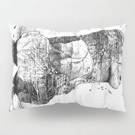 asc 757 - La nostalgie est une île (The remains) Pillow Sham