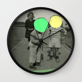 Fluo Argument Wall Clock