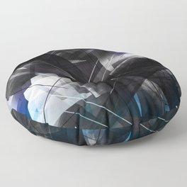 Cubism 2.0 - Geometric Abstract Art Floor Pillow