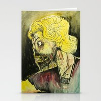 zombies Stationery Cards featuring zombies by Marcelo O. Maffei