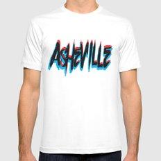 ASHEVILLE  Mens Fitted Tee White MEDIUM