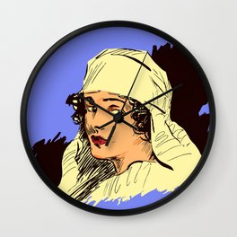 Nurse portrait WW1 Wall Clock