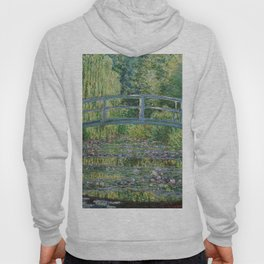 Claude Monet The Japanese Footbridge and the Waterlily Pool at Giverny 1899 Hoody