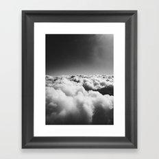 Dream in the Clouds Framed Art Print