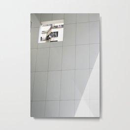 NYC Peephole Metal Print