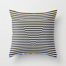 Trippy Triangle Throw Pillow