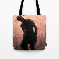 groot Tote Bags featuring Groot by Varsha Vijayan