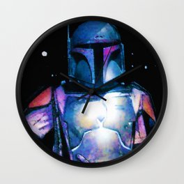 Boba Fett Wall Clock