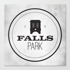 Falls Park Canvas Print