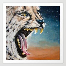 Cheetah Sky Art Print