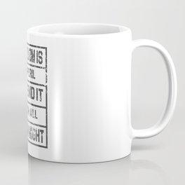 freedom is inperil defend it Coffee Mug