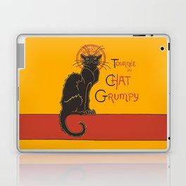 Tournee du Chat Grumpy... Laptop & iPad Skin