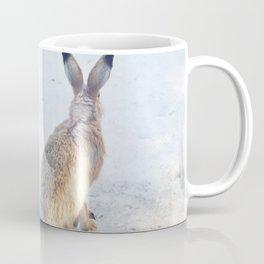Rabbit in winter Coffee Mug