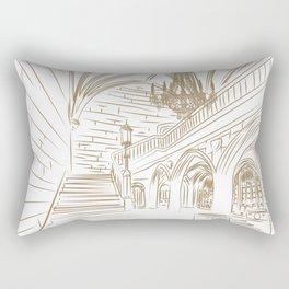 Royal Ballroom Rectangular Pillow