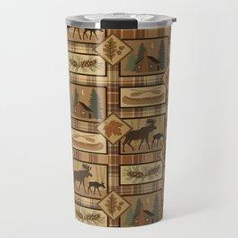 Moose Cabin Travel Mug