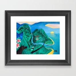 Wangetti Framed Art Print
