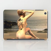 erotic iPad Cases featuring erotic tattoo by flamenco72