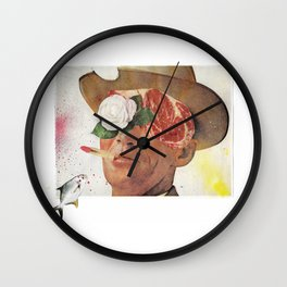 Les Yeux Sans Visage Wall Clock