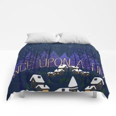 Once Upon a Time In Storybrooke Comforters