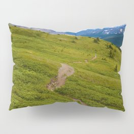 Views Along the Wilcox Pass Trail in Jasper National Park, Canada Pillow Sham