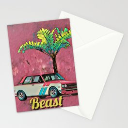 Racing sport car Stationery Cards