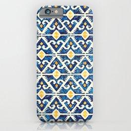Thunderbird Kilim Watercolor iPhone Case