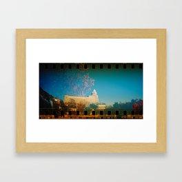Hot Springs Rehab Blossom Framed Art Print