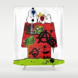 Anarchy Shower Curtain