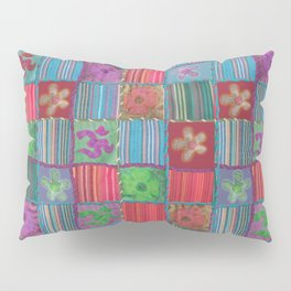 Boho Patchwork Pillow Sham
