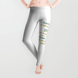 Alice In Wonderland Quote - You're Entirely Bonkers Leggings