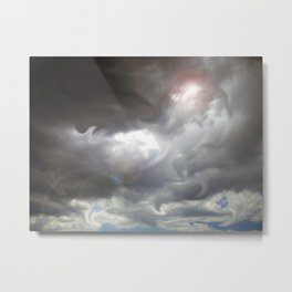 Liquid Lights in the Sky Metal Print