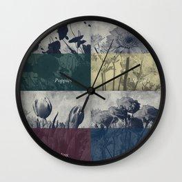 Garden I Wall Clock
