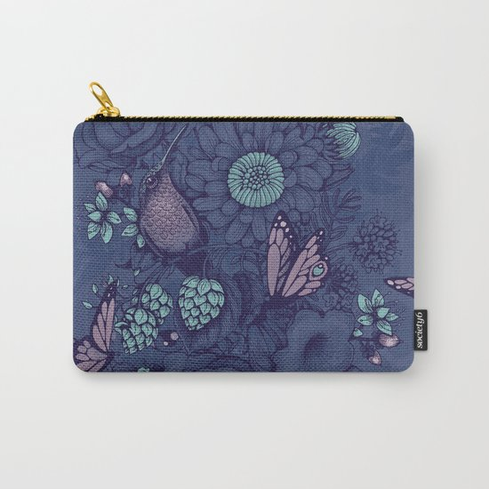 Beauty (eye of the beholder) - neon version Carry-All Pouch