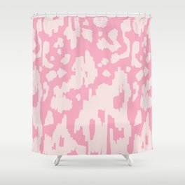 Modern Abstract Ikat Pink P  #homedecor Shower Curtain