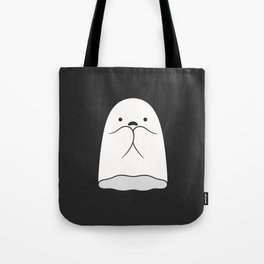 The Horror / Scared Ghost Tote Bag