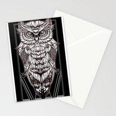Nocturnal Elegance Stationery Cards