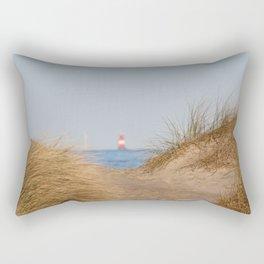 At the beach 10 Rectangular Pillow
