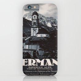 retro Germany iPhone Case